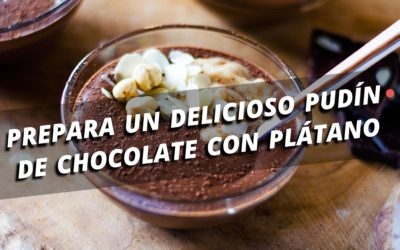 ¡Pudín de chocolate con ingrediente secreto!